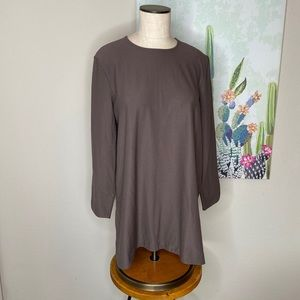 Eileen Fisher Brown Long sleeve Tunic